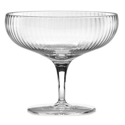 champagne coupe Inku by Serax
