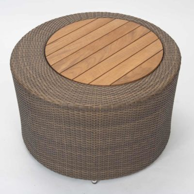 brown outdoor coffee table by pr Home
