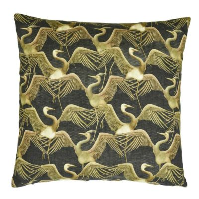 black birds deco art Jakobsdals cushion case