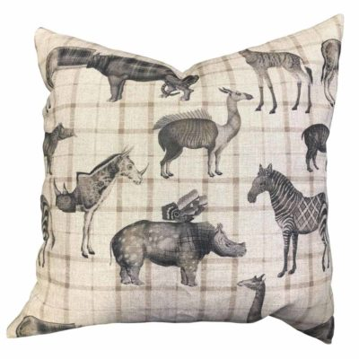 animals fusion art Jakobsdals cushion case