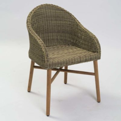 rattan outdoor dining chair by Pr Home