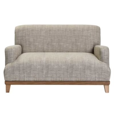 Grey fabric compact sofa, Hove by Pr Home