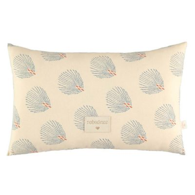 cream cushion in organic cotton by Nobodinoz