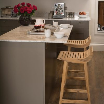 wooden kitchen stool by Pr Home
