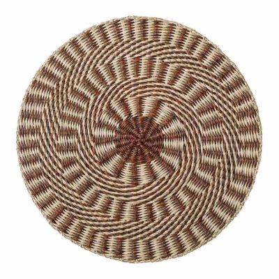 seagrass Bloomingville round placemat
