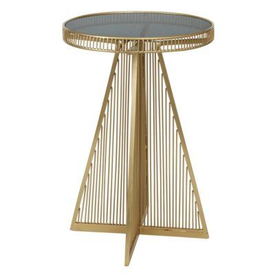 gold side table Jakobsdals