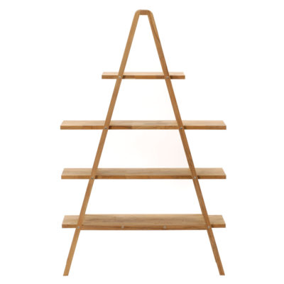solid wood frame shelving unit by Pr Home