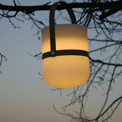 Rechargeable outdoor lantern by Pr Home