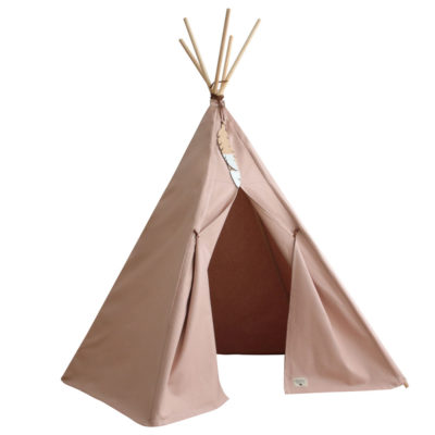 pink cotton teepee by Nobodinoz