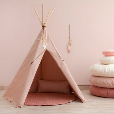teepee nevada bloom pink nobodinoz