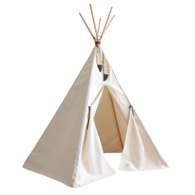 natural cotton teepee by Nobodinoz