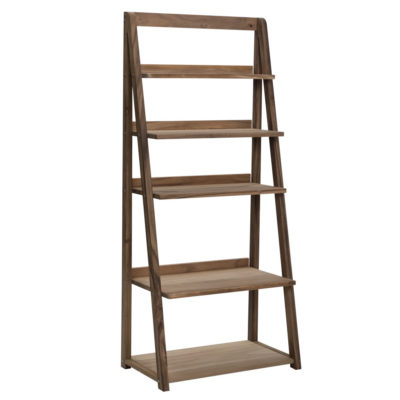 wooden shelving unit by Pr Home