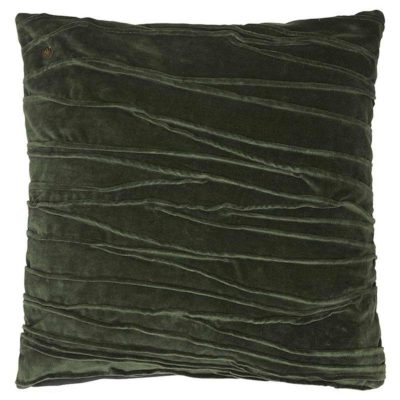 green velvet traces Jakobsdals cushion case