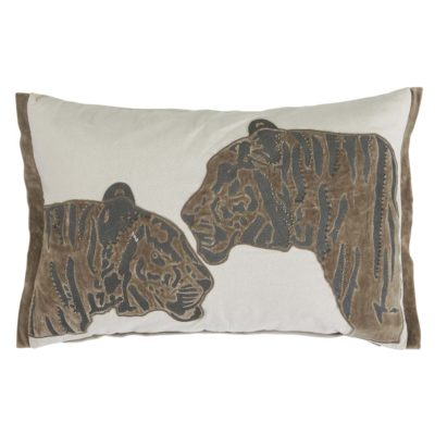 trophy tiger Jakobsdals cushion case