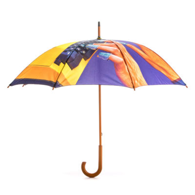umbrella with typewritter by Seletti