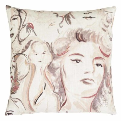 Artist's Muse Cushion Case by Jakobsdals