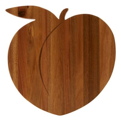 wooden peach chopping board, Bogota by Latzio