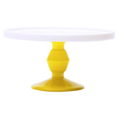 Cake stand mini yellow, Jansen + Co bySerax