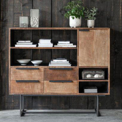 wooden dresser, Odeon No.3 by DTP Home