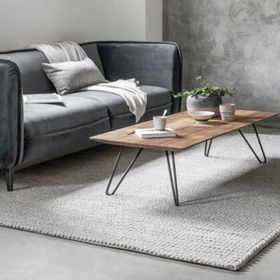 Timeless Wooden coffee table Air by DTP Home