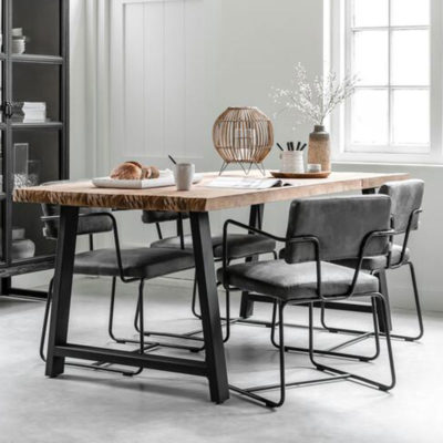 wooden dining table 200 cm, Timeless A Team by DTP Home
