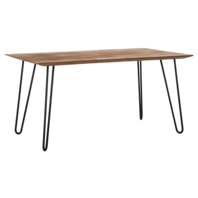 wooden dining table 160 cm, Timeless Air by DTP Home