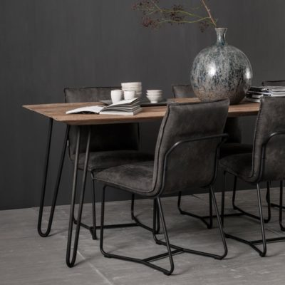 wooden dining table 210 cm, Timeless Air by DTP Home