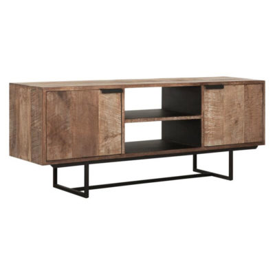 Wooden and metal legs TV Stand, Odeon No.2 by DTP Home