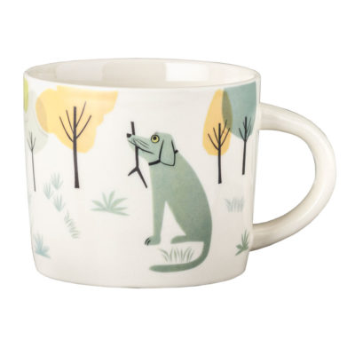 Ceramic Dog Mug Hannah Turner