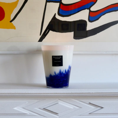 blue feathers Touareg candle by baobab