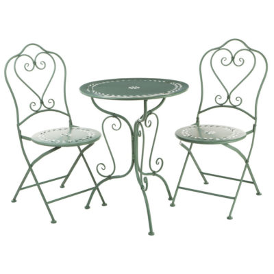 garden set table and 2 chairs, Isidro by Latzio