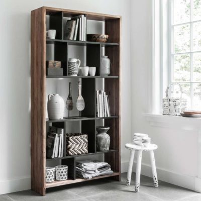 Wooden and metal Bookrack Orient by MUST Living