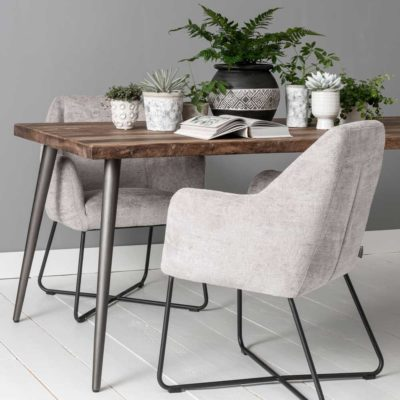 wooden dinning table retro 210cm by MUST Living