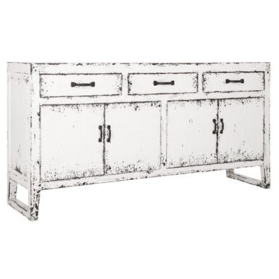 white wooden sideboard, Ghost byMUST Living