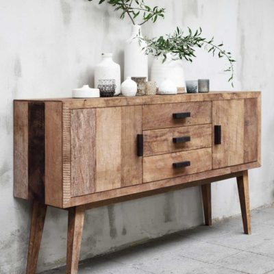 Wooden sideboard vintage by MUST Living
