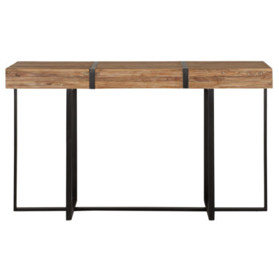 wooden and metal console table, Bumper by MUST Living