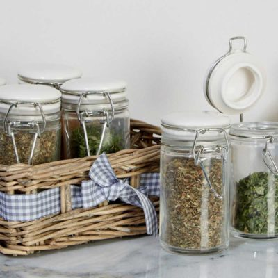 Country cottage set 6 spice jars, Obera by Latzio