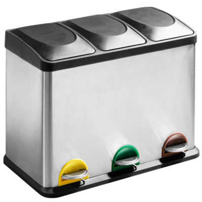 Recycle pedal bin, Palpala by Latzio