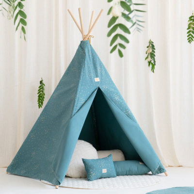 Magic Green Phoenix Teepee by nobodinoz