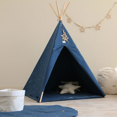 Night Blue Phoenix Teepee by Nobodinoz