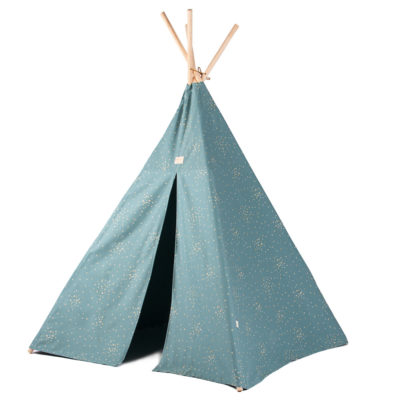 green and gold teepee by Nobodinoz