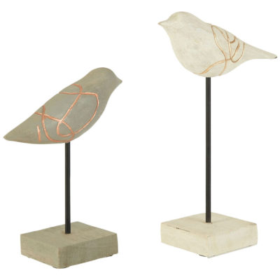 two birds sculptures, Rawson by Latzio