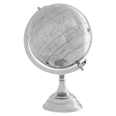silver globe, Tilly by Latzio