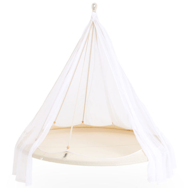 White classic large hanging TiiPii Bed