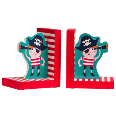 pirate bookends by Latzio