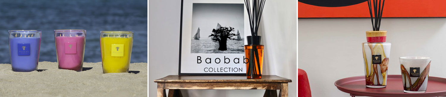 baobab candles and diffusers
