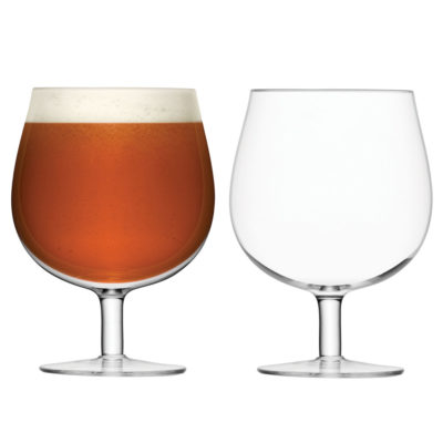 handmade bar craft beer glass by LSA Interntional