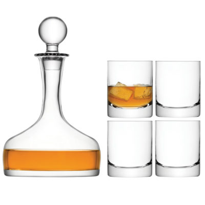 handmade bar whisky set by LSA International