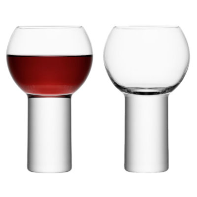 handmade wine goblet, boris by LSA International