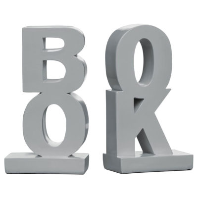 grey bookends by Latzio